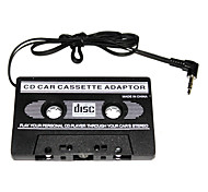 Adattatore di musicassette per auto, attacco 3.5mm, per MP3, iPod, Nano, CD e iPhone