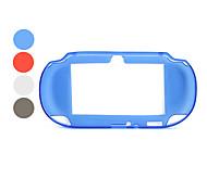 caja transparente protectora de silicona para ps vita (colores surtidos)
