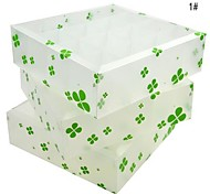 Multifunction PP Storage Box without Cover (3-Piece)