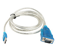 USB 2.0 to RS232 Serial Port Adapter Cable (115 cm)