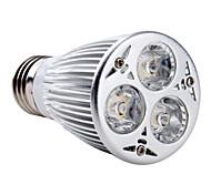 E26/E27 6 W 3 High Power LED 540 LM Natural White PAR Spot Lights AC 85-265 V