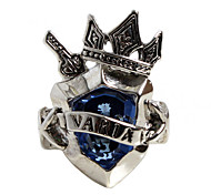 Cosplay Accessory Inspired by Reborn! Xanxus Varia Sky Ring  (Blue)