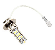 H3 26 SMD LED 5500K White Headlight Bulb 3W