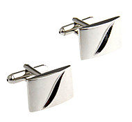 High Quality Rectangular Men's  Cufflinks