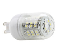 3W G9 LED Corn Lights T 48 SMD 3528 150 lm Natural White AC 220-240 V