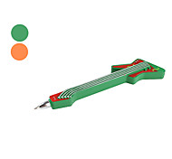 Guitar Shaped Ball-point Pen with Magnet (Assorted Colors)