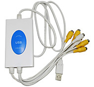 электростанцией USB DVR-4 канала видео + 2 канала аудио