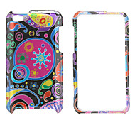 Protective Circles Pattern Style Full Body Case for iPod Touch 4 (Rose)