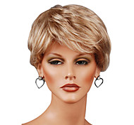 Capless Short High Quality Synthetic Straight Wigs