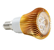 E14 5W 3 High Power LED 420 LM Natural White PAR38 LED Spotlight AC 85-265 V