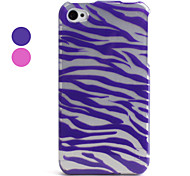 Stripe Pattern Style Back Case and Bumper Frame for iPhone 4 and 4S (Assorted Colors)
