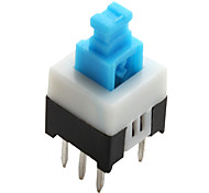 PA66 6-pin Tact Switch (Non-lock, 20 Pieces a pack, 7x7mm)