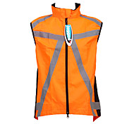 JAGGAD Men's Cycling Tops / Jerseys Sleeveless Bike Spring / Summer Breathable / Quick Dry Orange XS / S / M / L / XL / XXL