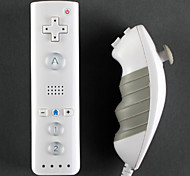 Mini Remote и Nunchuk контроллер для Wii / Wii и (белый)
