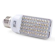 Bombillas LED de Mazorca T E26/E27 3W 55 LED Dip 200 LM Blanco Cálido AC 100-240 V