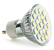GU10 Spot LED MR16 21 SMD 5050 220 lm Blanc Naturel AC 100-240 V