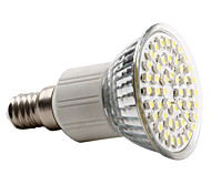3W E14 Focos LED MR16 48 SMD 3528 150 lm Blanco Natural AC 100-240 V