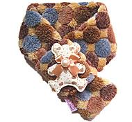 плюшевого мишку стиль шарф для собак и кошек (х-м, коричневый)