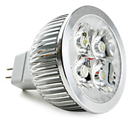 5W GU5.3(MR16) Focos LED MR16 4 LED de Alta Potencia 360 lm Blanco Natural DC 12 V