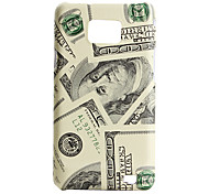 US Dollar Style Protective Case for Samsung i9100 (Beige)