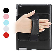 Etui en cuir PU portable avec support pour iPad 2/3/4 (couleurs assorties)