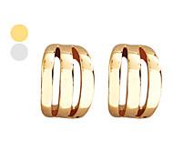 Lureme®Glossy Bars Earrings (Assorted Colors)