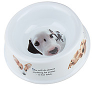 Mini Puppy Dog Bowl (14 x 14cm, White)