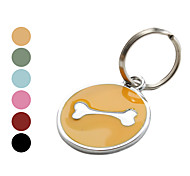 Dog tags/Dog Bone Style Dog Name Tag (Assorted Colors)