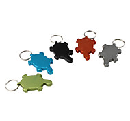 Turtle Shaped Bottle Opener Keychain