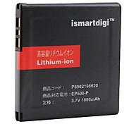 iSmart 1000mAh de la batería para Sony Ericsson Vivaz, Vivaz Pro, Xperia X8