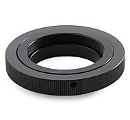 adaptador de lentes t2 t montura del objetivo al adaptador universal M42 cuerpo del tornillo de montaje T2-m42