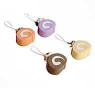 mignon porte-clés en forme de gâteau à la crème (couleurs aléatoires)