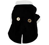 nero giacca formale con farfallino per i cani (XS-XL, nero)
