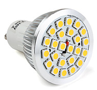 GU10 / E26/E27 24 SMD 5050 300 LM Warm White / Natural White MR16 LED Spotlight V