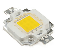 diy 9-12V 900mA 10W 800lm caliente emisor LED blanco
