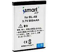 iSmart 800mAh pour Nokia 7070 Prism, 7370, 7373, 7500 Prism, N76