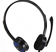 Powerful Bass Stereo PC Headphone with Mic and Volume Control