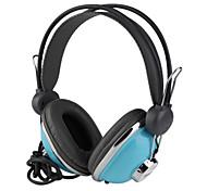 estéreo de alta qualidade mp3/mp4/pc cabeça fone de ouvido com microfone