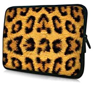 "Leopardenmuster Neopren Laptop-Hülle für 10-15 ""iPad MacBook Acer Dell HP Samsung"