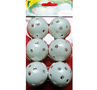 Golf Indoor Training Hollow Ball (6-Pack)