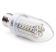 E14 / E26/E27 Luzes de LED em Vela C35 66 SMD 3528 200 lm Branco Quente AC 220-240 V