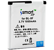 Ismart 1000mAh Battery for Nokia 6210 Navigator, 6260 slide, N95, N96
