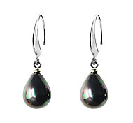 Droplets Shell Pearl Earrings