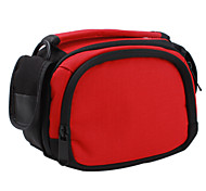 Protective Nylon Bag for DV, DC and Interchangeable Lens Digital Camera (Red, B11)
