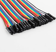 Cables Hembra a Macho para Placa de Pruebas para Do-It-Yourself (22cms)