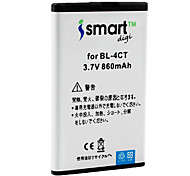 Ismart 860mAh Battery for Nokia 6700 slide, 7210 Supernova, 7230, 7310 Supernova