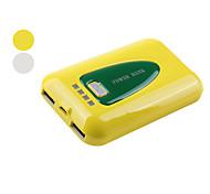 8400mah batterie externe avec la lumière dirigée pour iPhone, iPad, MP4, PSP, etc