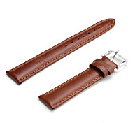 Unisex Genuine Leather Watch Strap 18MM(Brown) Cool Watch Unique Watch