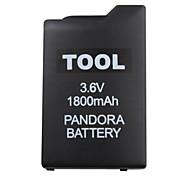 psp batterie pour psp débrickeur 1000 (1800mah, 3.6v)
