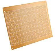 Universal DIY Bakelite Plate PCB Breadboard-Brown (2-Piece Pack)